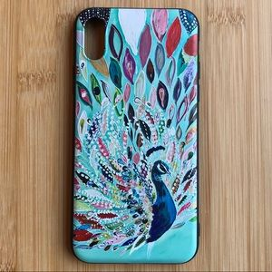 Accessories - NEW Iphone X Multicolor Peacock Soft Case